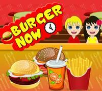 เกมส์ขายแฮมเบอร์เกอร์ Burger Now