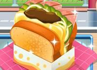 เกมส์ทำขนมปังแซนวิช Egg Drop