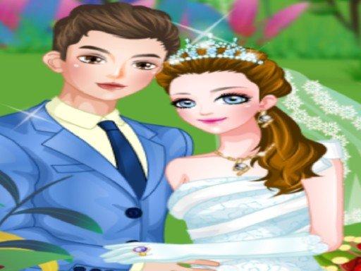 เกมส์แต่งตัวงานแต่งงานในสวน