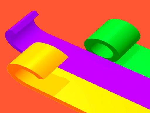 เกมส์ทาสี Color Roll 3D 2121