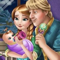 เกมส์เจ้าหญิงแอนนากับคริสตอฟเลี้ยงลูก