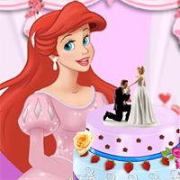 เกมส์แอเรียลทำเค้กแต่งงาน