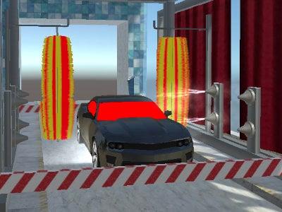 เกมขับรถไปล้างรถ