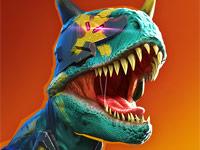 เกมไดโนเสาร์ 3D ต่อสู้กัน