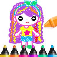 เกมวาดรูประบายสีสำหรับเด็กผู้หญิง