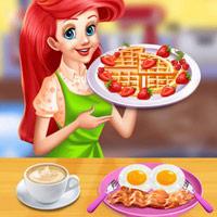 เกมส์แอเรียลทำอาหารเช้า 2