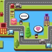 เกมส์ขับรถส่งคน Taxi Pickup