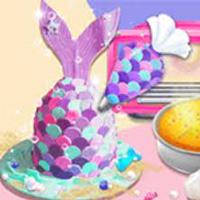 เกมส์ทำเค้กนางเงือก Unicorn Chef Mermaid Cake