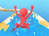 เกมส์วิ่งแข่งในสวนน้ำ