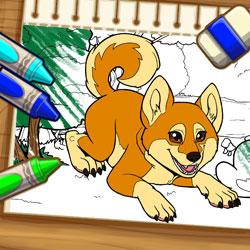 เกมส์ระบายสี Color Me Pets 2