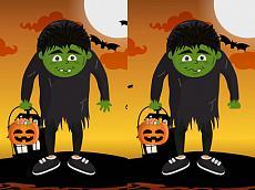 เกมส์จับผิดภาพ Halloween Differences