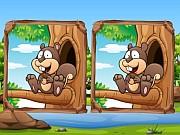 เกมส์จับผิดภาพ 5 จุด Jungle 5 Diffs