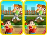 เกมส์จับผิดภาพ Public Park Difference