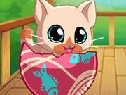 เกมส์เลี้ยงแมว My Pocket Pets: Kitty Cat