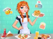 เกมส์เจ้าหญิงอันนาทำอาหารเช้า