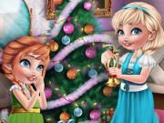 เกมส์เอลซ่ากับแอนนาแต่งห้องวันคริสต์มาส