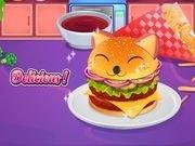 เกมท์ทำแฮมเบอร์เกอร์น่ารักๆ